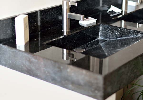 Marble and granite bathrooms