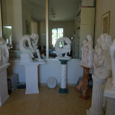 SCULPTURES DE MR. ODINO PRETE
